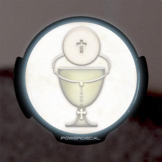 Sacraments LED Window Decal