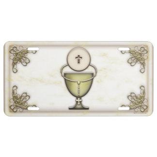 Sacraments License Plate