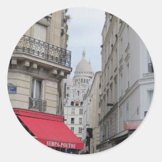 Sacre Coeur Basilica Dome, Paris Classic Round Sticker