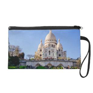 Sacre Coeur Basilica, French Architecture, Paris Wristlet Purse