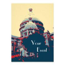Sacré-Coeur Basilica Montmartre Event Invitation at Zazzle