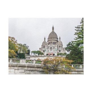 Sacre Coeur Basilica, Paris canvas print