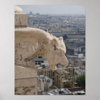 Sacre Coeur Gargoyle 1 Print