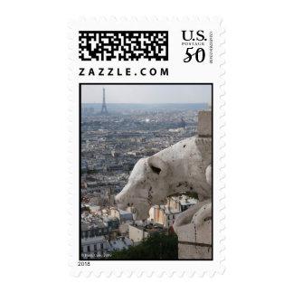 Sacre Coeur Gargoyle 2 Postage Stamp