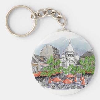 Sacre Coeur key chain