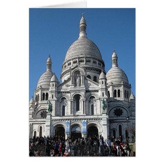 Sacré-Cœur, Montmartre, París, Francia Tarjeta Pequeña