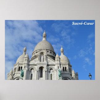 Sacré-Cœur, Paris, France Poster