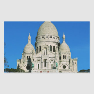 Sacre Coeur Rectangle Stickers