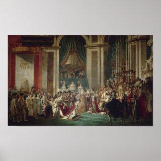 Sacre de Napoleon Poster