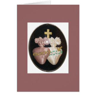 SACRED AND IMMACULATE HEARTS CARDS
