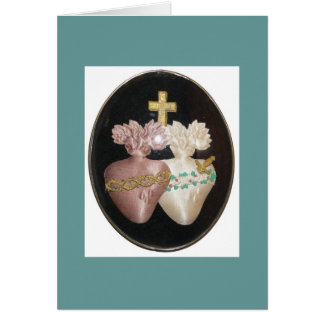 SACRED AND IMMACULATE HEARTS GREETING CARDS