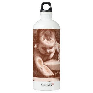Sacred and Profane Detail in Copper SIGG Traveler 1.0L Water Bottle