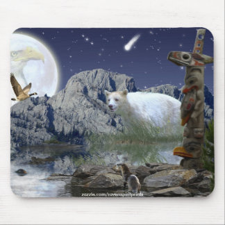 Sacred Animals Haida Spirit Wildlife Mousepad