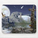 Sacred Animals Haida Spirit Wildlife Mousepad Mousepads