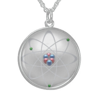 """Sacred Atomic Structure"", Sterling Necklace"