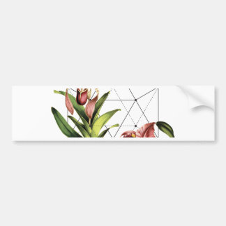 Sacred Botanical Bumper Sticker