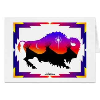 Sacred Buffalo Card