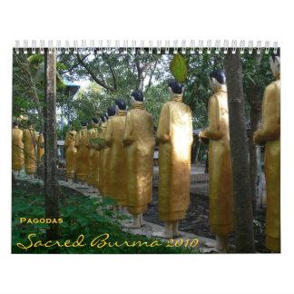 Sacred Burma 2010 Calendar