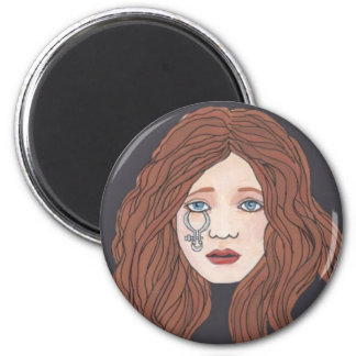 Sacred Calipers of the In Crowd 2 Inch Round Magnet