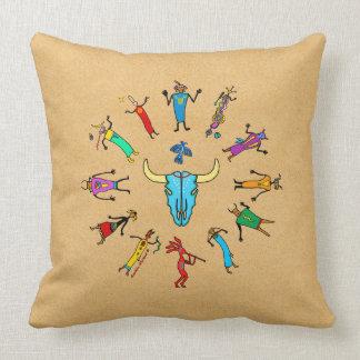 Sacred Circle Throw Pillow
