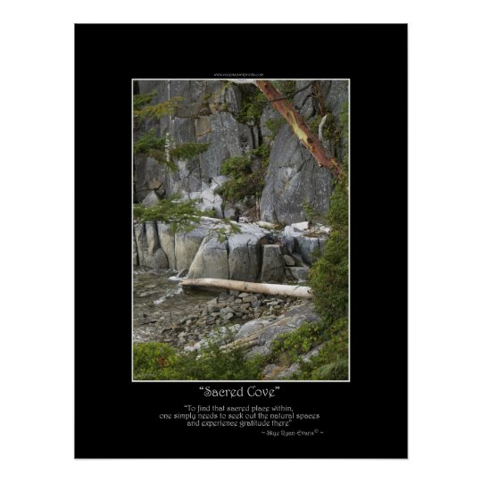 SACRED COVE Photo Poster