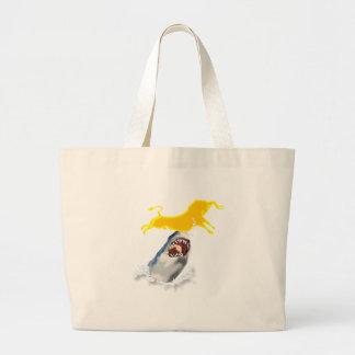 sacred cow jumbo tote bag