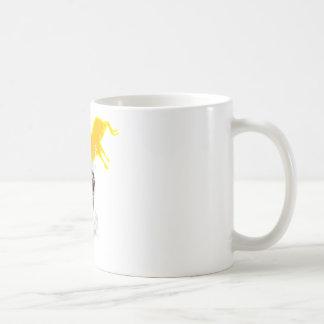 sacred cow classic white coffee mug