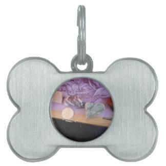 Sacred Crystal Alignment Pet ID Tags