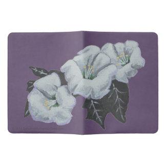 Sacred Datura White Wildflowers Extra Large Moleskine Notebook