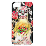 Sacred - Day of the Dead Girl Portrait iPhone 5C Covers