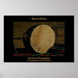 Sacred Drum Poster