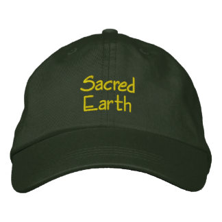 SACRED EARTH Embroidered Hat