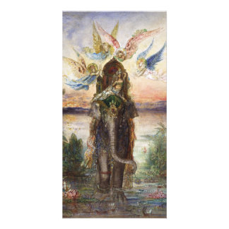 Sacred Elephant by Gustave Moreau Card