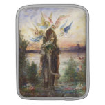 Sacred Elephant by Gustave Moreau iPad Sleeves
