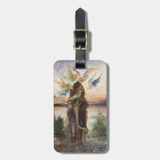 Sacred Elephant by Gustave Moreau Travel Bag Tags
