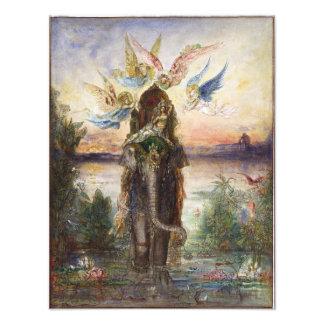 Sacred Elephant by Gustave Moreau Photo Print