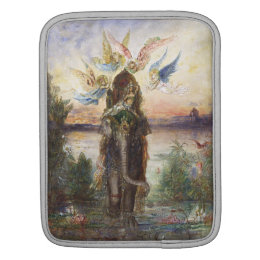 Sacred Elephant by Gustave Moreau Sleeve For iPads