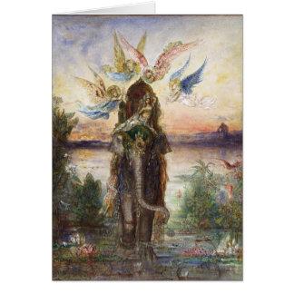 Sacred Elephant (Péri) by Gustave Moreau Card