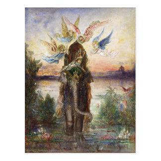Sacred Elephant (Péri) by Gustave Moreau Postcard