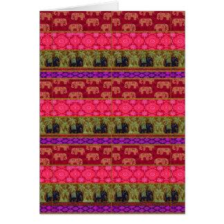 Sacred Elephants Card
