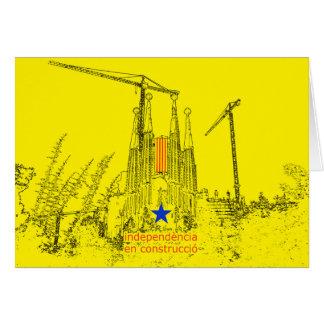 Sacred Estelada: Independence in construccio Card