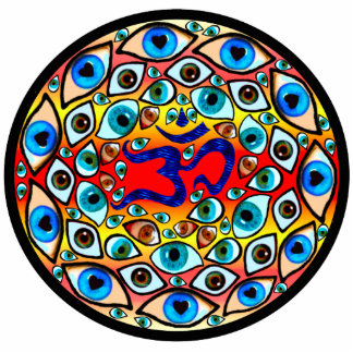 Sacred Eyes sculpture Photo Cutout
