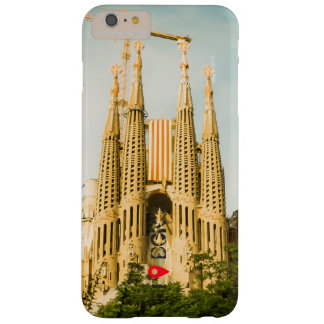 Sacred Family with Catalonia's flag Barely There iPhone 6 Plus Case