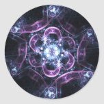 Sacred-G Energy Bubbles Round Stickers
