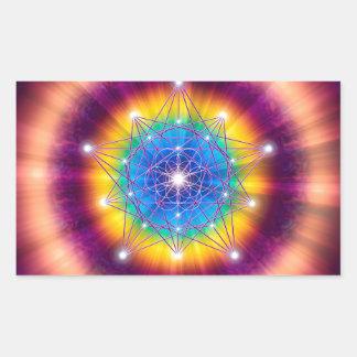 Sacred Geometry 12 Rectangular Sticker