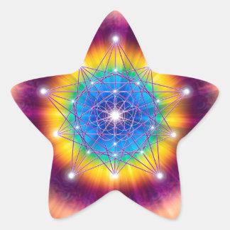 Sacred Geometry 12 Star Sticker