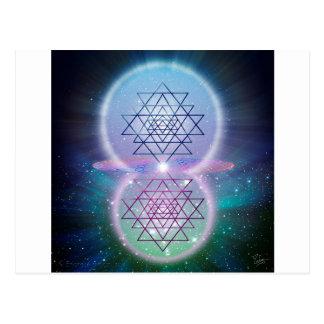 Sacred Geometry 7 Postcard