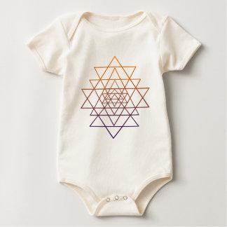 Sacred Geometry Baby Bodysuit