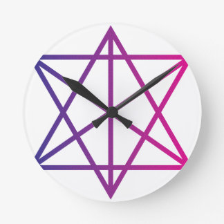 Sacred Geometry Round Wallclocks
