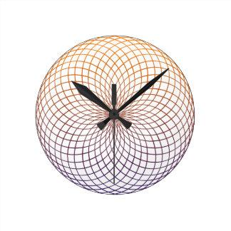 Sacred Geometry Wallclocks
